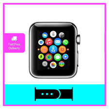 Apple Watch 42mm Space Grey Aluminium Case with Black Stainless Steel Band ION-X