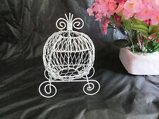 Mini Cinderella Carriage for Wedding or Birthday Decorations