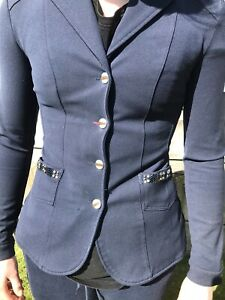 Animo Competition Jacket Navy Size 36
