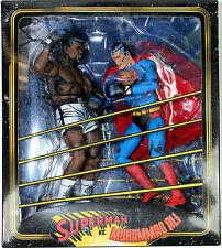 DC Comics ~ SUPERMAN vs. MUHAMMAD ALI SPECIAL EDITION ACTION FIGURE SET ~ NECA