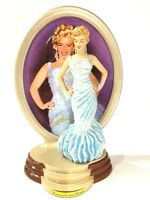 2001 Liimited edition Bradford Exchange Marilyn Monroe plate with doll figurine