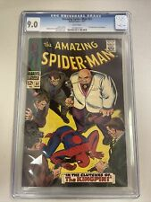 Amazing Spider-Man 51 CGC 9.0 1st Cover and 2nd Kingpin