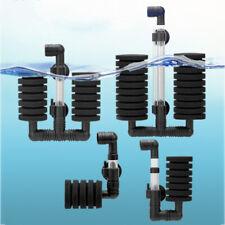 New Aquarium Bio Filter Sponge Filter Fish Tank Air Pump Skimmer Aquarium Filter