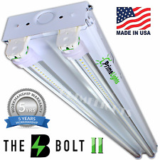 44W 5000K 4ft Garage Shop Troffer Light Fixture With 2 x 22W LED T8 Tube Lights