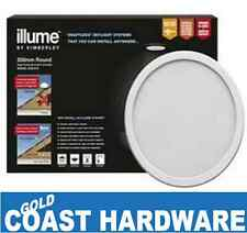 Illume Shaftless Skylight SOLAR POWERED SYSTEM 350MM ROUND - White