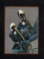 India Miniature Bird Painting Handmade Miniature Artwork For Wall Decoration