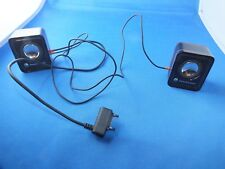 Original Sony Ericsson altavoces rojo/negro w810i walkman speaker