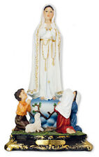 """Mary Our Lady of Fatima 16"""" Florentine Resin Statue Beautiful Religious Gift"""