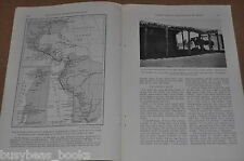 1929 magazine article, Buenos Aires to Washington DC By Horse, 2.5 year trip