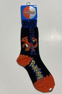 1999 Nintendo Pokémon Charmeleon Boys Socks Size 6-8 1/2