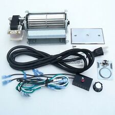 Universal Upgraded Blower Fan Kit for Wood / Gas Burning Stove or Fireplace