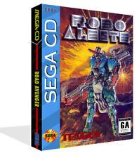 Robo Aleste Sega CD Replacement Spare Game Case + Box Art Work Cover No Game