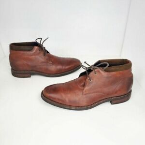 Cole Haan GrandOS brown leather chukka boots Men's 10.5M