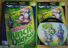 ODDWORLD MUNCH'S ODDYSEE for XBOX COMPLETE
