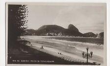 Brazil, Rio De Janeiro, Praia de Copacabana RP Postcard, B198