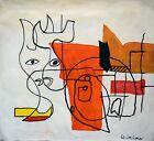 Vintage Abstract Canvas Le Corbusier, Modern Art