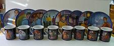Star Trek Collector Plate & Mug COMPLETE SET Susie Morton Hamilton Collection