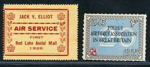 GREAT BTITAIN 2 EARLY POSTER ARMY STAMPS MINT.INTERESTING LOT.    A29