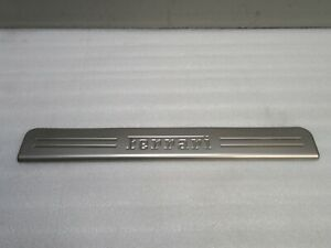 2015 - 2018 Ferrari California T Right Door Sill Scuff Kick Plate Oem 085082500