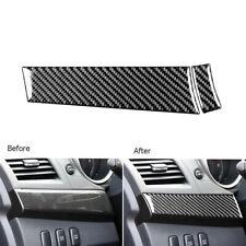 2Pcs Carbon Fiber Copilot Dashboard Panel Trim For Mitsubishi Lancer Evo 2008-14 (Fits: Mitsubishi Lancer)