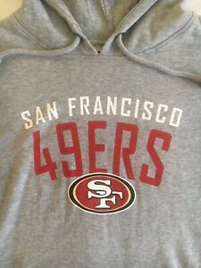 San Francisco 49ers Pullover Hoodie '47 Brand Sweatshirt New With Tags