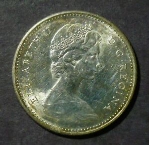 1967 Canada 10 Cents