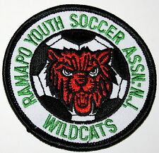 Local Soccer Ramapo Youth Assoc. Wildcats New Jersey Iron On Patch New