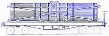 DENVER & RIO GRANDE RAILROAD 3000 GALLON WOOD WATER TANK  CAR Sn3 Kit TC5906