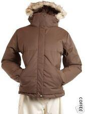 NILS New Ski Snow REBECCA JACKET PARKA fur COFFEE M