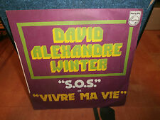 "david alexandre winter""""single7""or.fr.philips:6042002.de 1975.signé par david"