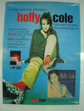 HOLLY COLE - 1999 - SYDNEY FESTIVAL - PROMO POSTER