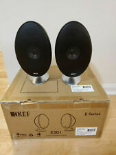 KEF E301 Satellite Speakers Black (Pair)