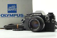【NEAR MINT in BOX】 Olympus OM10 Quartz SLR Camera w/ Auto-S 50mm F1.8 From JAPAN