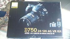 Kit NIKON D750 + objectif 24-120 f/4G VR