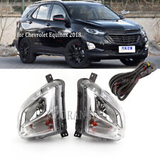 Pair For Chevrolet Equinox 20182019 2020 Front Bumper Fog Light Wires Harness