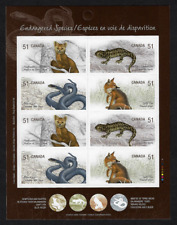Canada - Booklet of 8 - Endangered Species, Land Animals #2177b (BK335) - MNH