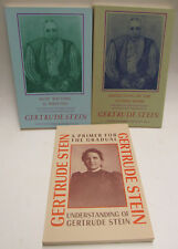 LOT OF 3: BLACK SPARROW PRESS: GERTRUDE STEIN TITLES -1ST ED 1973 Robert B Haas