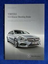 Mercedes Vorteile CLS-Klasse Shooting Brake X218 - Prospekt Brochure 06.2014