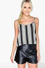 Cotton Striped Petite Tops & Shirts for Women