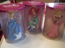 "Disney Princesses 7"" Hand Crafted Figurines set of 3"