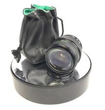 Konica AR fit ITOREX 28mm 1:2.5 AE lens fits AR Camera mount + filter+caps #394