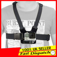 For GoPro HD Hero 2 3 3+ 4 5 Camera Harness Mount Adjustable Elastic Chest Strap