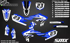 2018 2019 YZF 250/450 motocross graphics kit moto decals stickers YZ450F SMX YZ