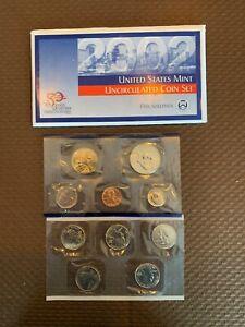 2002 Denver mint   coin set