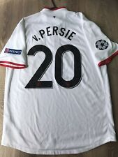 MANCHESTER UNITED 2012/13 CHAMPIONS LEAGUE AWAY SHIRT ADULTS(L) 20 v.PERSIE