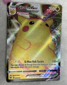 Pokemon Card Pikachu VMAX Card 044/185