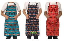 Southwest Navajo Chef Apron With Pockets Grill /Kitchen/ Bbq