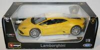 Burago 1/18 scale Diecast 18-11038 Lamborghini Huracan LP 610-4 Yellow