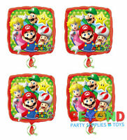 Super Mario Happy Birthday Party Mylar Foil Balloon 18""