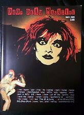 DROP DEAD MAGAZINE 0 Nina Hagen Virgin Prunes Cinema Strange Deathrock Goth RARE